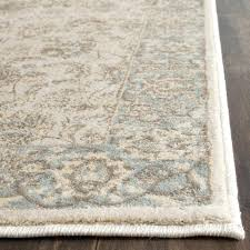 baby blue area rug light blue traditional french fl wool persian area rug