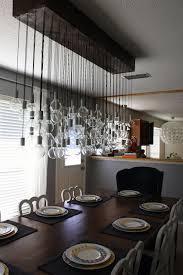 diy dining room bulbs pendant lights on diy dining room chandelier
