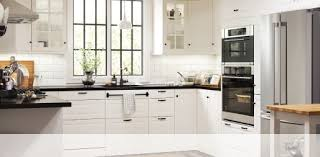 Simple White Kitchen Cabinets Cool Kitchen Cabinets Appliances Design IKEA