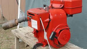 Tecumseh H50 5HP, high output power, near pristine engine 1969 built ...