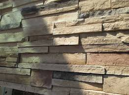 stacked stone wall tile to transform your wall into a natural modern look