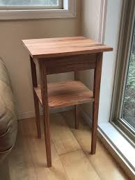 How to build a simple table Side Table First Build Simple Shakerstyle Side Table Reddit First Build Simple Shakerstyle Side Table Woodworking