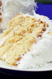Fresh Coconut Cake With Lemon Cream Cheese Filling Kitchme