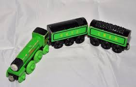flying scotsman and two tenders thomas friends wooden railway system 1835387880