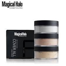 lasting loose powder waterproof matte setting powder with puff concealer light banana mineral makeup setting powder best foundation for bination skin