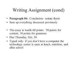 economics writing assignment prompt compare and contrast the  3 writing assignment
