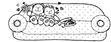 couch clipart black and white. Brilliant Couch Bears On Couch  Mormon Share In Clipart Black And White A