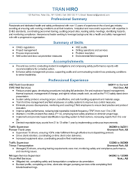 Ideas Of Safety Manager Resume Example About Fire Best