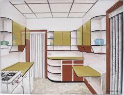 Acrylic Flooring Grand Designs Retro Acrylic Original Painting 1965 On Board Kitchen Design