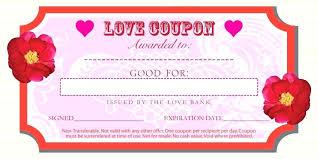 Free Editable Love Coupon Template Microsoft Word Growinggarden Info
