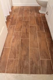 Tile In Bathroom Remodelaholic Bathroom Renovation With Wood Grain Tile And More