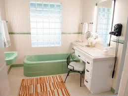 mid century modern bathroom tile. Bathrooms Design White Laminated Base Cabinet Table Sink Mid Century Modern Bathroom Tile O