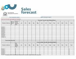 Sales Forecasting Templates Excel
