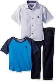 English Laundry Size Chart English Laundry Boys Chambray Sport Shirt Tee Or Creeper And Denim Jean
