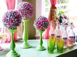 how to make a lollipop topiary centerpiece