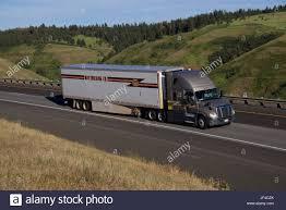 May Trucking Company Rural Oregon Stock Photo 147000082