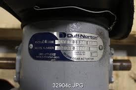 duff norton actuator wiring diagram 24h schemes duff norton m10010 1274b worm gear actuator