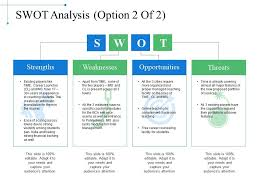 Swot Matrix Examples Swot Analysis Example Of Ppt Powerpoint Slide Presentation