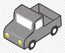 Pickup Truck Car Van Toyota Hilux Motor Vehicle - Gray Truck Clipart ...