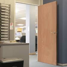 Interior Plywood Door, 1/2 Hour Fire Rated Flush Plywood Fire Door