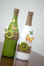 Glass Bottle Decoration Ideas DIY Wonderful Glass Bottle Art 68