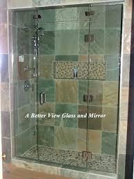 how to install glass shower door cost sliding frameless