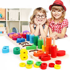 New <b>Children Wooden Montessori Materials</b> Learning Count ...