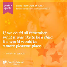 Joy Quotes Beauteous Joy And Happiness Of A Child Poem Joys Of Life