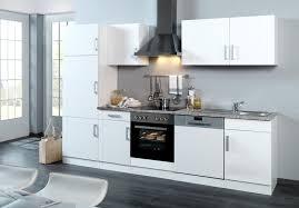 Küchenzeile VAREL Küche mit E Geräten Breite 280 cm