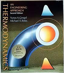 Thermodynamics: An Engineering Approach: Yunus Cengel: 9780071004947 ...