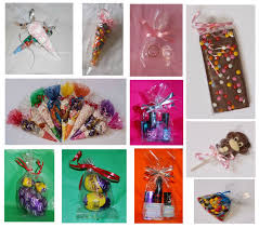 clear cello treat party cones gusset bags for sweets lollipops bags gift nklbui6293 wrapping paper