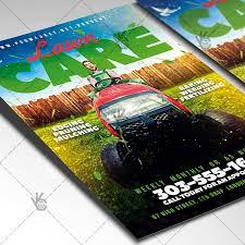 Lawn Care Brochure Download Lawn Care Flyer Services Psd Template Psdmarket
