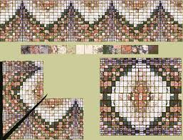 Nancy Ludwig uses Bargello Designer and a graphic program for her ... & Bargello Designer screen shot of the initial design Adamdwight.com