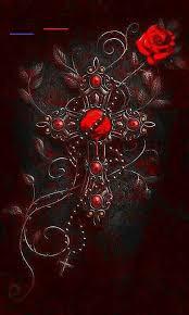 Pin by Adam Littau on Main | Cross wallpaper, Red roses wallpaper, Cross art