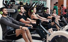 ro a group rowing cl is one of three new group exercise concepts on