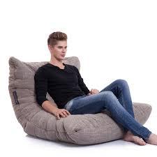 big wide  low designer bean bag sofa  bean bags australia