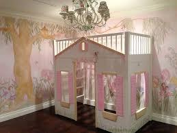 Enchanted Garden Mural in Girls Bedroom