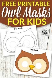 More seasons and celebrations coloring pages. Printable Animal Masks For Kids Simple Mom Project