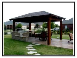 patio ideas magnificent covered kits design for better home with stoned pathways and swivel chairs