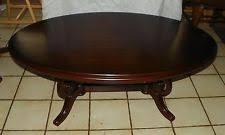 cherry coffee table. Oval Cherry Coffee Table By Thomasville (CT44)