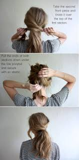 Quick Cute Ponytail Hairstyles Best 20 Cute Ponytails Ideas On Pinterest Cute Easy Ponytails