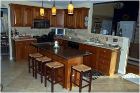Granite Kitchen Table And Chairs Kitchen Mesmerizing Brown Kitchen Island Table Kitchen Island