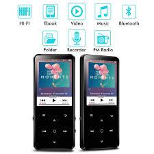 <b>C10 Bluetooth</b> MP3 Player 2.4-inch <b>HD</b> Touch <b>Screen</b> Built-in ...