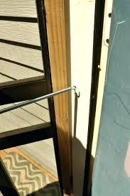 replace screen door how to install patio screen door rollers installing a screen door attach door