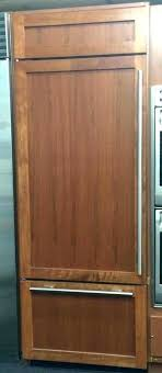 panel ready refrigerator handles fridge kitchenaid 48 inch