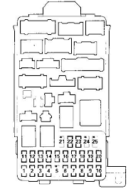 fuse box on acura tl 2000 wiring diagram 2006 acura tl headlight fuse at 2008 Acura Tl Fuse Box