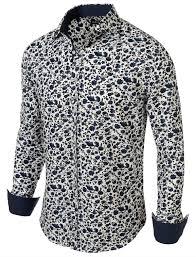 Men's Patterned Dress Shirts Best Men's Tops 48 Encounter