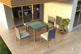 furniture for small patio. Urbana Dining Set Harmonia Living Modern Synthetic Outdoor Patio Furniture Hdpe Affordable Value Price Low Cost For Small U