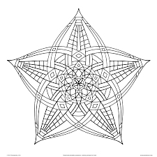 Free Printable Geometric Designs To Color Geometric Design