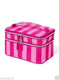 70 nwt victoria s secret supermodel train case cosmetic bag beauty make up